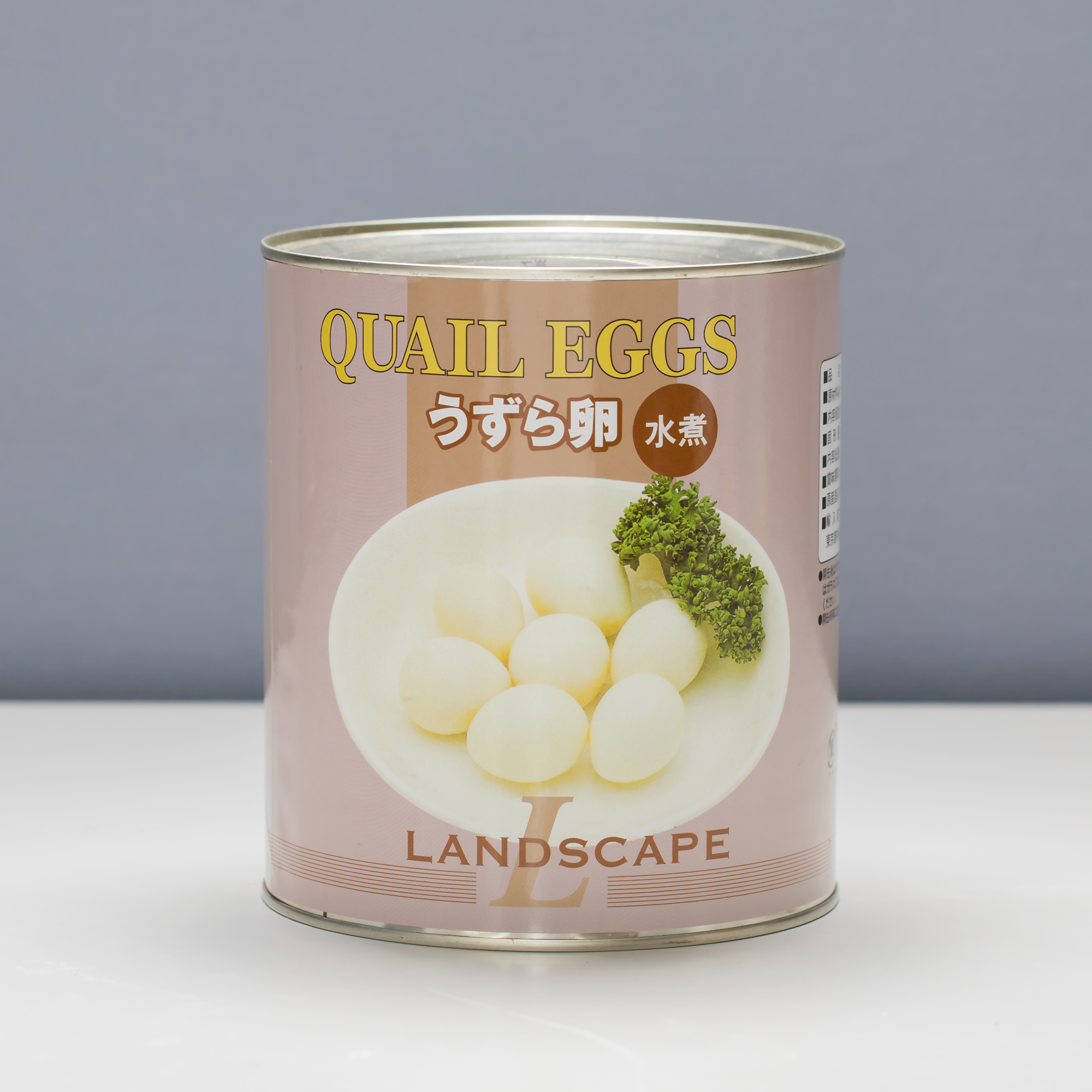 中国うずら1号缶